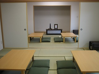 遺族控室:和室