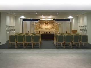 式場:祭壇